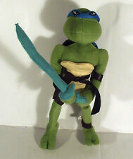"12"" LEONARDO WITH SWORD - BLUE TEENAGE MUTANT NINJA TURTLES SOFT TOY"