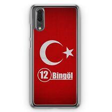 Huawei p20 hard cover funda bingöl 12 motivo Design turquía Türkiye funda de móvil SC