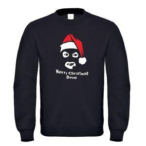 Christmas sweater jumper secret santa merry christmas Dave Papa