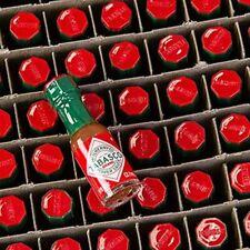 Tabasco rot pikant Minifläschen McIlhenny 533 ml = 144 x 3,7 ml