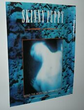 """Rare 1986 Skinny Puppy Mind: The Perpetual Intercourse Promo Poster! 18""""x 24""""!"""