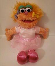 "GUND Sesame Street 12"" ZOE Ballerina Stuffed Plush Animal Toy #46212 Tutu"