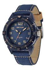 Relojes de pulsera Blue resistente al agua para hombre