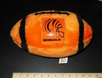 Vtg. OLD LOGO Cincinnati Bengals NFL Collectable Souvenir Football Sport Pillows