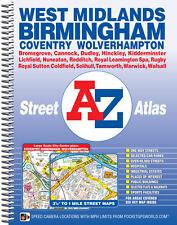 West Midlands Street Atlas by A-Z Maps (Spiral)