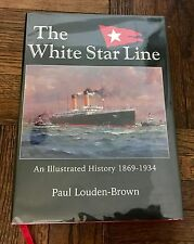WHITE STAR LINE PAUL LOUDEN-BROWN SIGNED TITANIC OLYMPIC MAJESTIC CELTIC ISMAY
