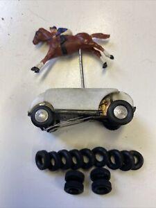 "Triang ""Jump Jockey "" Horse Racing Game ,Extra Grip Replacement Tyres"