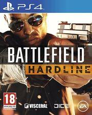 BATTLEFIELD HARDLINE JEU PS4 NEUF