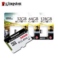 Kingston High Endurance 32GB 64GB 128GB MicroSD Card Up To 95MBs for Dashcam
