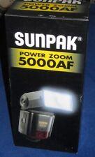 Sunpak Power Zoom 5000AF Model PZ5000AF Flash for Minolta AF Camera NEW
