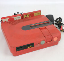TWIN FAMICOM SHARP Console System AN500-R Red FREE SHIPPING Ref/351549