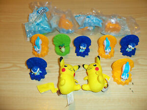 13 Pokemon Game Figure Toy Lot - BURGER KING - 2008