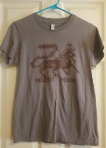 Vintage Modest Mouse Band Concert Graphic Tee Shirt American Apparel Women's L