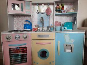 Kidcraft Childs Wooden Play Kitchen