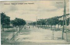 Año 1910. Postal. CALAHORRA. Logroño. Paseo de Canalejas (antes Mercadal).