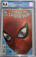 Amazing Spiderman #52 Nauck Variant CGC 9.6 Marvel Comics 2021