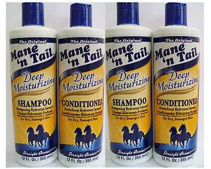 Mane 'n Tail Deep Moisturizing Shampoo & Conditioner ( pack of 4)