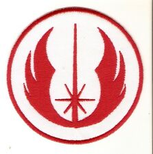 + Star Wars ricamate patch Jedi Order ROSSO RED