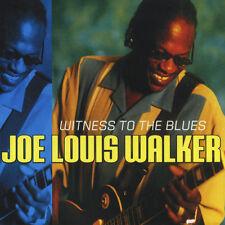 Joe Louis Walker – Witness To The Blues CD NEW