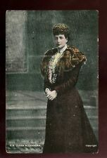 Royalty QUEEN ALEXANDRA vintage PPC