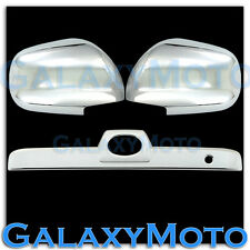 03-09 Toyota 4 Runner Chrome Mirror+Rear Hatch Door Tailgate Handle Trunk Cover