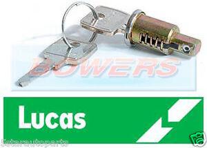 GENUINE LUCAS 54316731 IGNITION SWITCH LOCK BARREL WITH 2 UNIQUE KEYS MG MIDGET