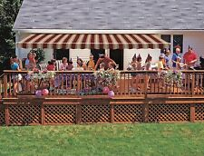 14' SunSetter Motorized XL Retractable Awning - Awnings to Shade Deck or Patio