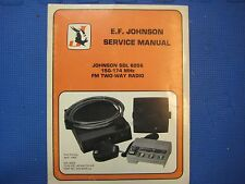 Johnson Service Manual Sdl 6056 150-174 Mhz