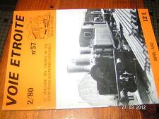 Voie Etroite n°57 Tram Nantes Bréda 1979