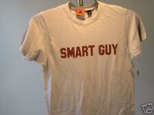 Republic Of Leisure Smart Guy T-Shirt Silver Burgundy 100% Cotton M Mens New
