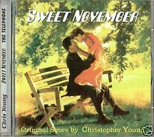 SWEET NOVEMBER Christopher Young RARE SCORE CD-NEW!!!