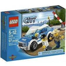 4436 PATROL CAR police lego city town SEALED forest ranger NEW legos set