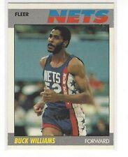 1987-88 FLEER BASKETBALL BUCK WILLIAMS #120 OF 132 - NEW JERSEY NETS