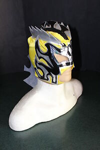 KALISTO KIDS YELLOW Amarilla WRESTLING MASK special edition FREE SHIPPING