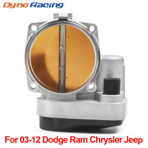 90mm Enlarged Throttle Body for 2003-2012 Dodge Ram Chrysler Jeep 5.7l 6.1l 6.4l