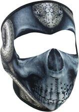 Zan Headwear Snake Skull Reversible Neoprene Full Face Biker Motorcycle Mask