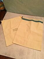 EILEEN FISHER Tory Burch Cotton Dust Shoe Bags Bag Drawstring Medium size