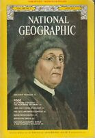 National Geographic July 1975 Benjamin Franklin, Food, Cape Cod, Ozark, Swans, A