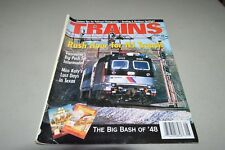 Trains Magazine railroad August 1998 Reading & Northern MKT Texas Vancouver