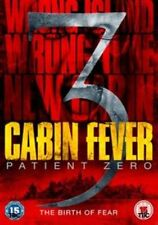 CABIN FEVER 3 - PATIENT ZERO - DVD - **NEW / SEALED**