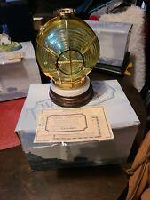 New listing Harbour Lights Fresnel Lens - 2002 - - #650 -w/Box(Bll)