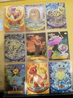 1999 Pokemon Topps Nintendo Series Lot Great Condition TV Animation Holograms