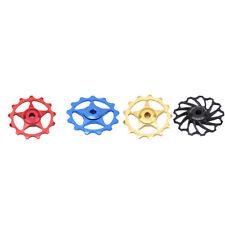 Colors Derailleur Ceramic Bearing Rear Pulley Jockey Wheel Bike Guide Roller DP