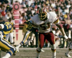 MONTE COLEMAN 8X10 PHOTO WASHINGTON REDSKINS PICTURE FOOTBALL NFL VS RAMS