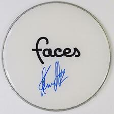 "Kenney Jones THE WHO Signed Autograph 13"" Drum Head    Small Faces, Faces, Kenny"