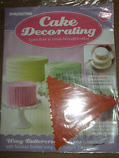 Deagostini Cake Decorating Magazine ISSUE 21 WITH TEXTURE TRIANGLE