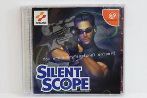 Silent Scope W/ Spine SEGA Dreamcast DC Japan Import US Seller DC657 READ