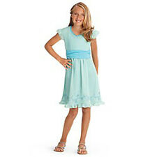 American Girl CL MY AG PETALS & POSIES DRESS SIZE 6 for Girls Blue Spring NEW
