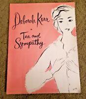 TEA AND SYMPATHY 1956 Tour Souvenir Program:  Deborah Kerr, Alan Baxter