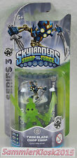 Crystal Green Twin Blade Chop Chop Skylanders Swap Force Figur Variante RAR Neu